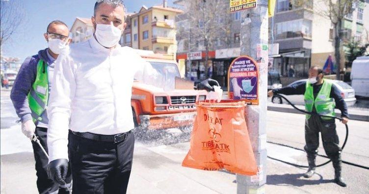 Başkan Çetin'den çöp tepkisi