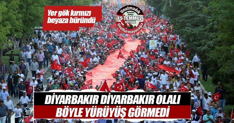 Diyarbakır Diyarbakır olalı böyle yürüyüş görmedi