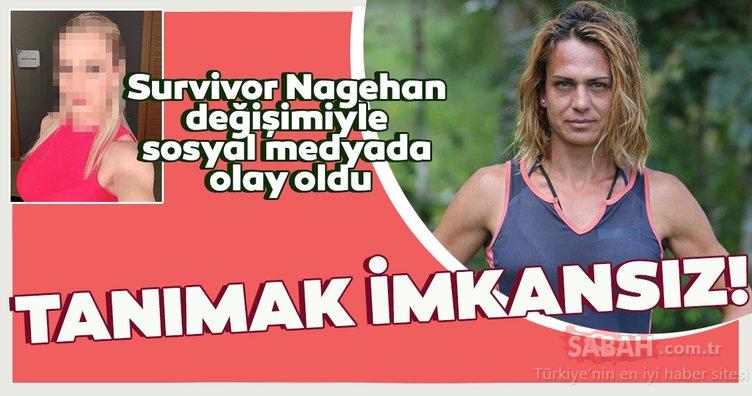 Survivor yarışmasıyla adını duyuran Nagihan Karadere estetiğin dozunu kaçırınca sosyal medyanın diline düştü! Survivor Nagihan bu kez bildiğiniz gibi değil!