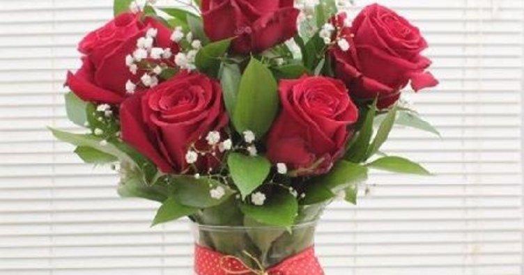 Sevgililer Günü'nde çiçek vurgunu