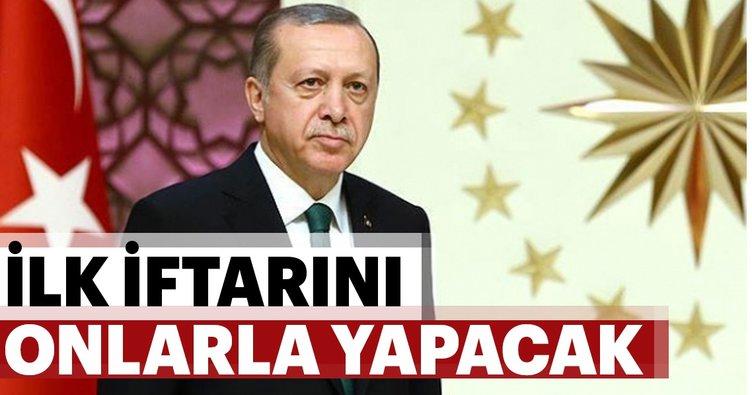 Cumhurbaşkanı Erdoğan, ilk iftarını şehit aileleriyle yapacak