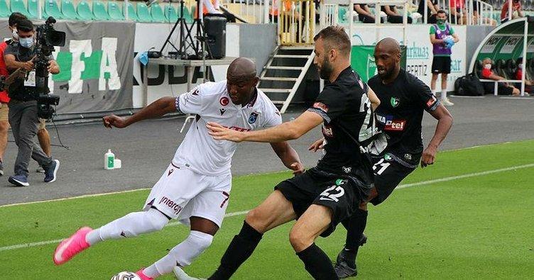 Denizli'de sessiz maç! Denizlispor 0-0 Trabzonspor   MAÇ SONUCU