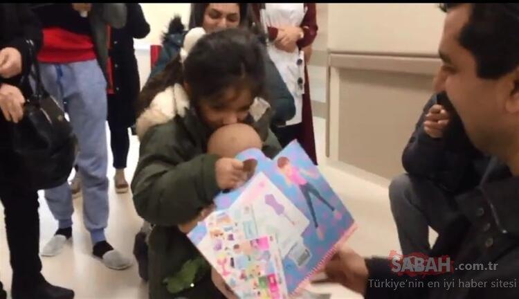 Uçak kazasında kaybolan bebeğine kavuşunca havalara uçtu