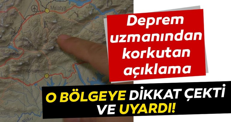 SON DAKİKA! Deprem uzmanından Malatya depremi sonrası korkutan açıklama! O bölgeye dikkat çekti ve uyardı