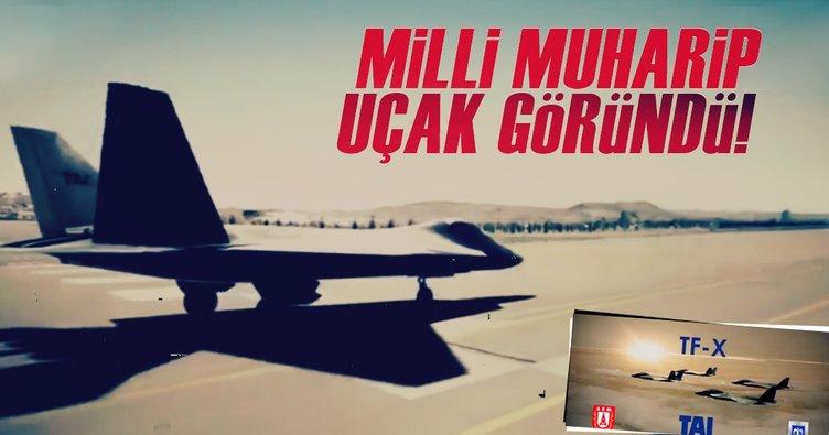 Milli Muharip Uçak projesinin videosu yayınlandı