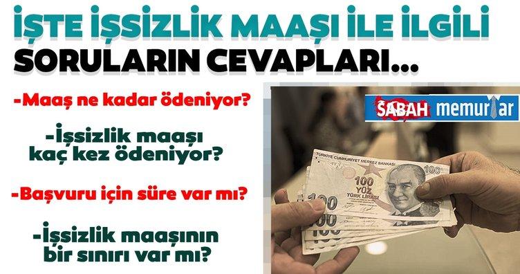 Sabah memurlar: İşsizlik maaşında ödeme öne çekildi! İşsizlik maaşı alma şartları nelerdir?