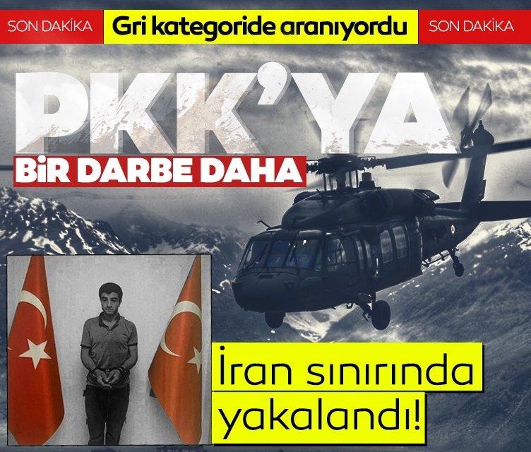 MİT ve Jandarma'dan PKK/KCK'ya operasyon! Gri kategoride aranan İslam Biliz yakalandı