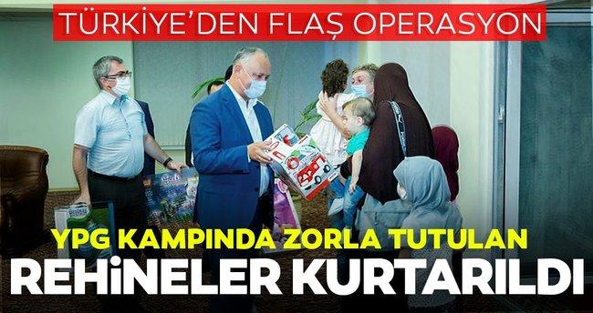 YPG'nin esir aldığı Moldova vatandaşları Türkiye'nin operasyonu ...