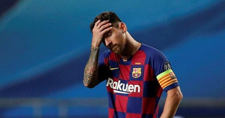 Barcelona'ya Messi şoku!