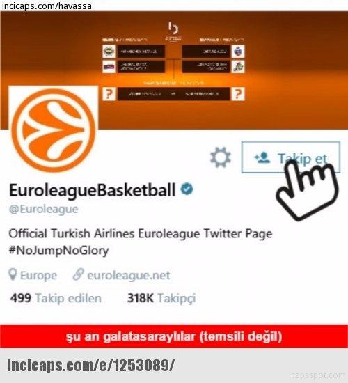Galatasaray Euro Cup'ı aldı, capsler patladı