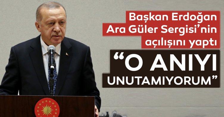 Başkan Erdoğan Ara Güler Sergisi'nin açılışını yaptı