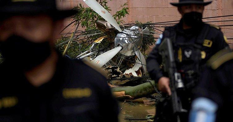 Guatemala'da insani yardım malzemesi taşıyan uçak düştü: 2 ölü