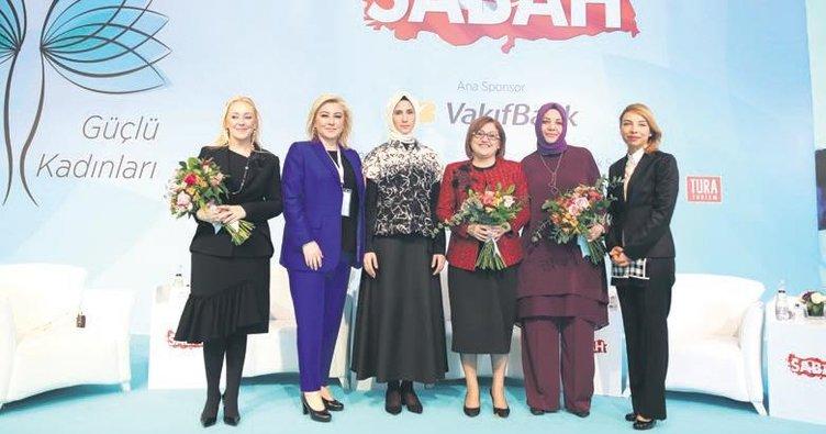 SABAH, güçlü Türkiye'nin güçlü kadınlarını buluşturdu