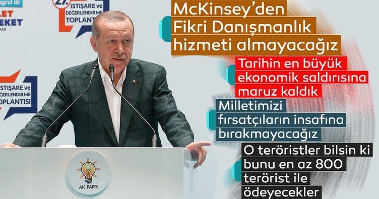 Başkan Erdoğan AK Parti'nin Kızılcahamam Kampı'nda önemli mesajlar verdi