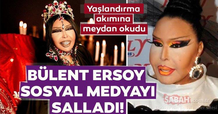Diva Bülent Ersoy sosyal medyayı salladı! Bülent Ersoy sosyal medyadaki yaşlandırma akımına…