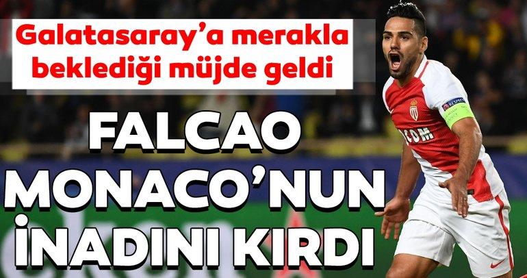 Son dakika haberi: Radamel Falcao - Galatasaray transferinde yeni gelişme: Monaco'nun inadı kırıldı..