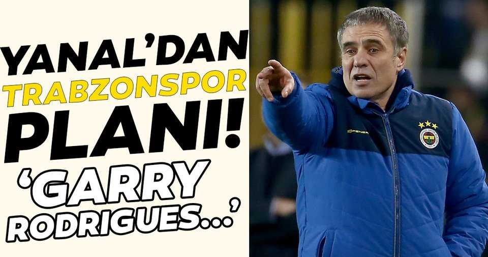Ersun Yanal'dan Trabzonspor planı! 'Garry Rodrigues...'