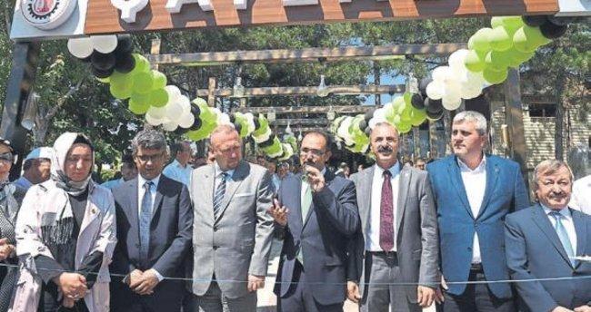 Ata Park Çayzade açıldı