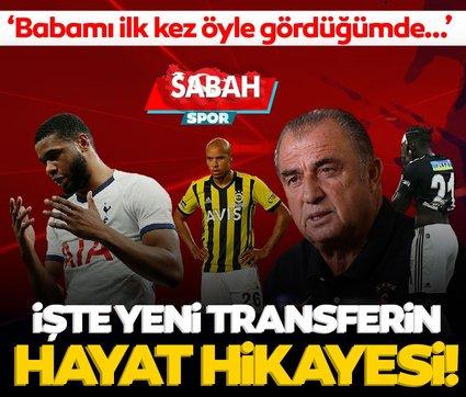 Son dakika: İşte Galatasaray'ın yeni transferi Tanganga'nın hayat hikayesi! 'Babamı ilk kez öyle gördüğümde...'