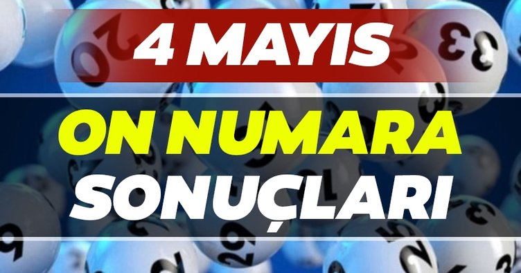 On Numara sonuçları belli oldu! Milli Piyango 4 Mayıs On Numara çekiliş sonuçları ve MPİ ile hızlı bilet sorgulama BURADA...