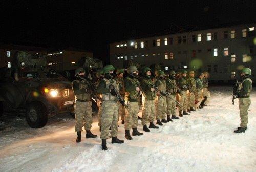 PKK'ya şafak baskını