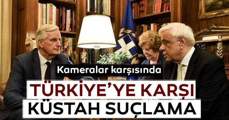 AB ve Yunanistan'dan Türkiye'ye karşı küstah suçlama