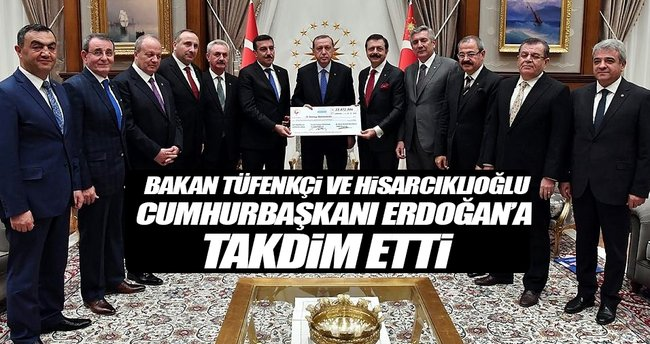 Cumhurbaşkanı Erdoğan TOBB Heyetini Kabul Etti