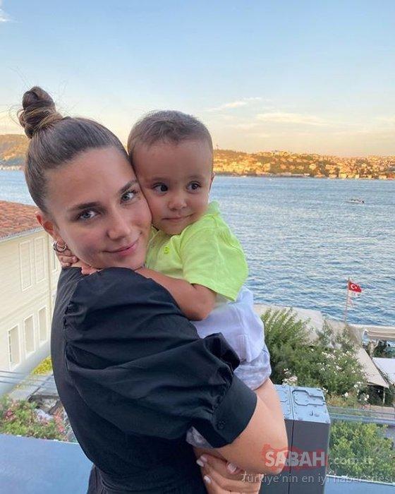 Alişan'ın karnı burnunda eşi Buse Varol en doğal halini paylaştı! 7 aylık hamile Buse Varol Gözleri ve burnu şiş bir anne...