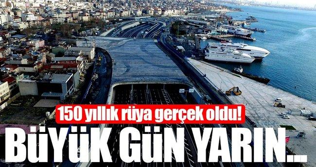 Son dakika haberi: Avrasya Tüneli yarın açılıyor