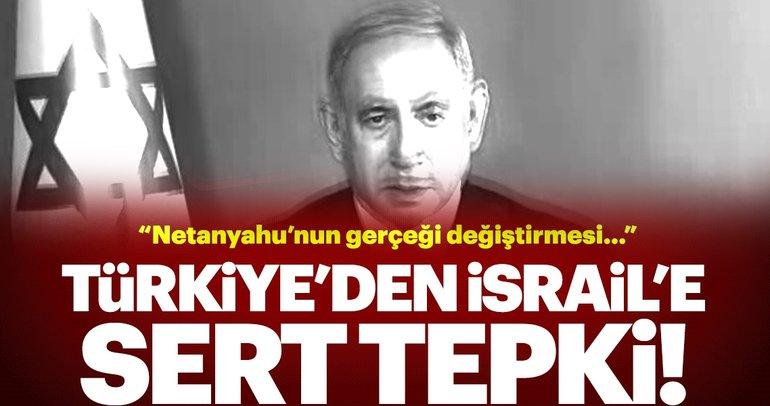 Türkiye'den flaş tepki: Filistin işgal altındadır! Netanyahu gerçeği değiştiremez