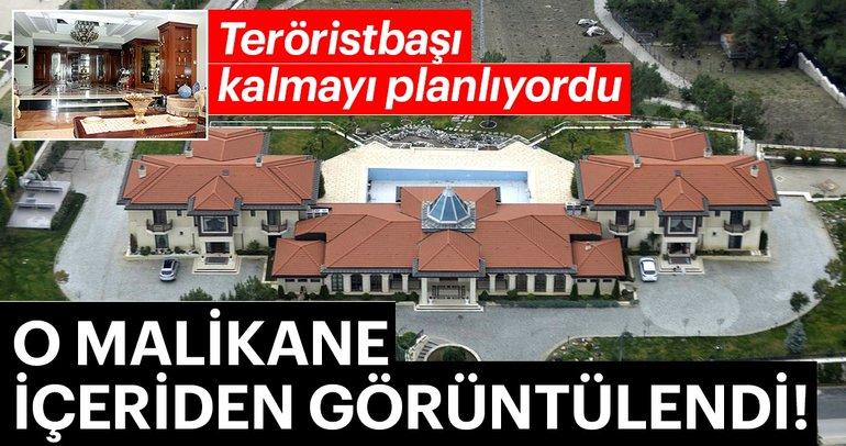 Teröristbaşı Gülen'in Bursa'da kalmayı planladığı malikane içeriden görüntülendi