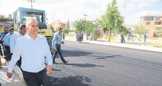 Büyükşehir 800 km yol asfaltladı
