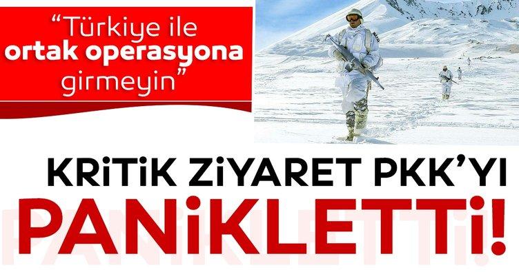Son dakika: Türkiye'nin kritik Irak ziyareti PKK'yı panikletti