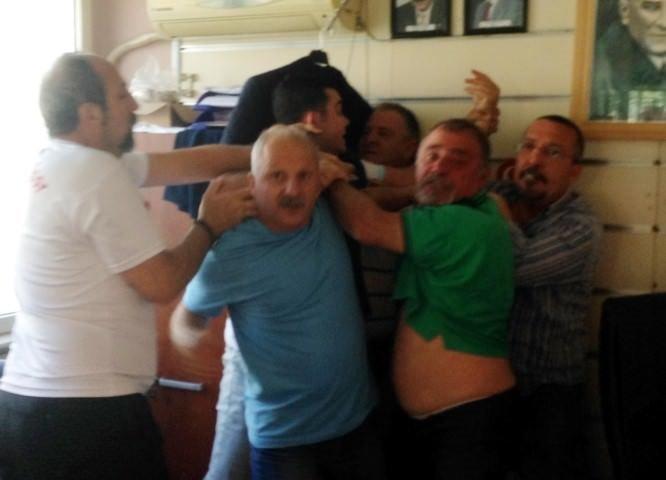 Antalya'da sporda şiddet