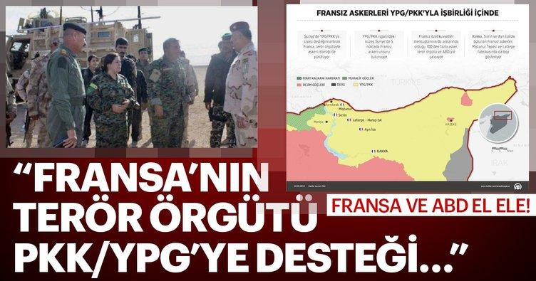 Fransız askerleri YPG/PKK'yla işbirliği içinde