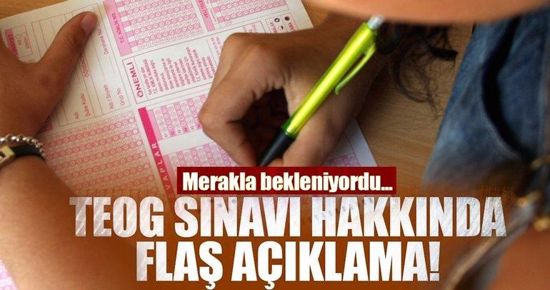 Son Dakika: TEOG sınavı kalktı mı? Milli Eğitim Bakanı Yılmaz resmen açıkladı!