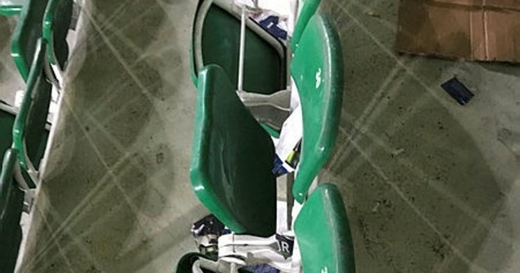 Atiker Konyaspor'dan kırılan koltuklarla ilgili açıklama