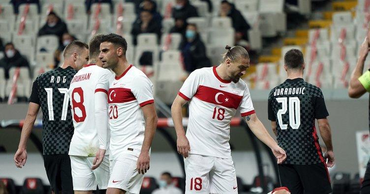 Türkiye 3-3 Hırvatistan | MAÇ SONUCU