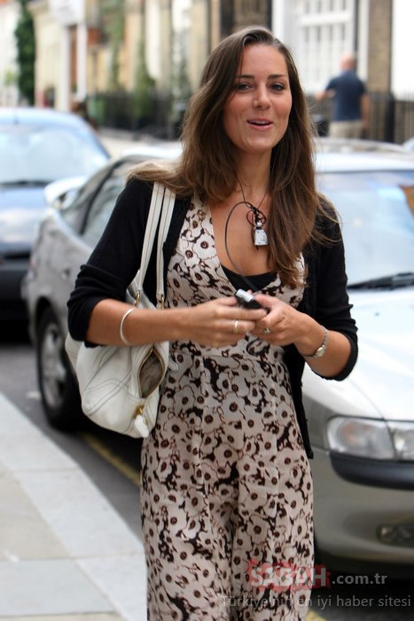 Kraliyet ailesinin gözde üyesi Kate Middleton düşes olmadan önceki haliyle şoke etti