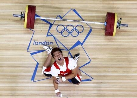 Olimpiyatta feci sakatlık