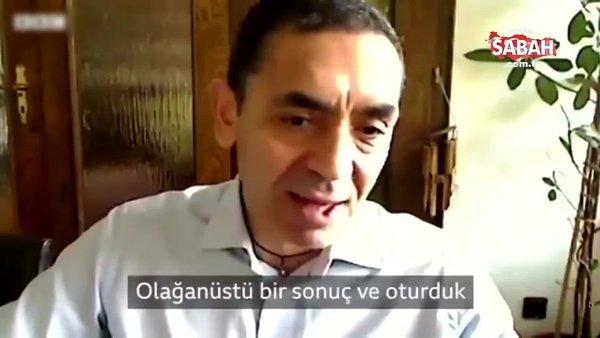 En başarılı corona virüs aşısını geliştiren şirketin sahibi Türk profesör Uğur Şahin: Çay içerek kutladık | Video