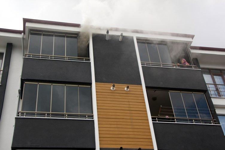 Uyudukları sırada evde yangın çıktı, 2 kardeş kabusu yaşadı!