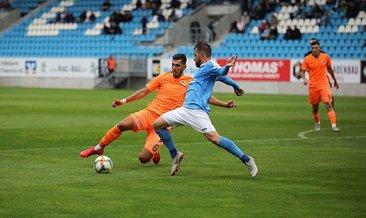 Alanyaspor hazırlık maçında Chemnitzer'e farklı yenildi