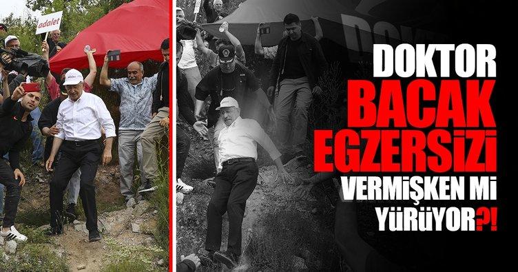 Kılıçdaroğlu, egzersizi ve medyası...