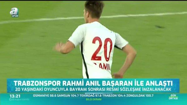 Trabzonspor Rahmi Anıl Başaran ile anlaştı