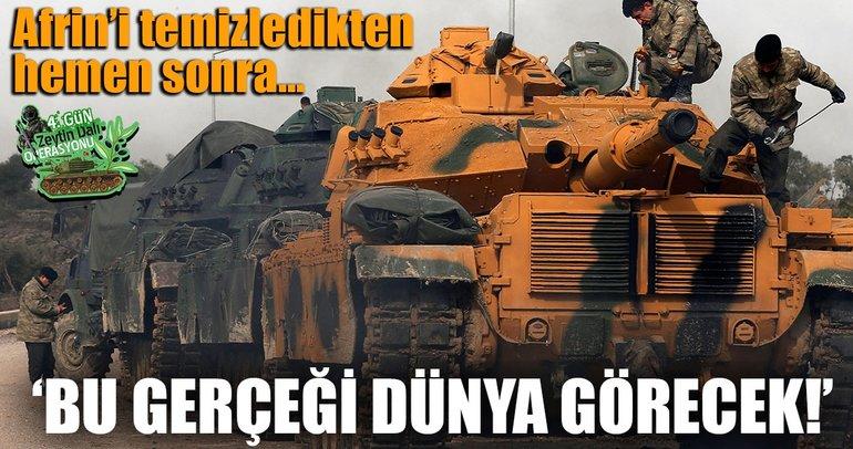 'Afrin, PYD/PKK'nın yüzünü tüm dünyaya gösterecek'