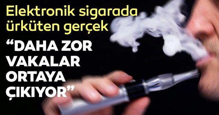 'Elektronik sigara yeni tümörler yarattı'