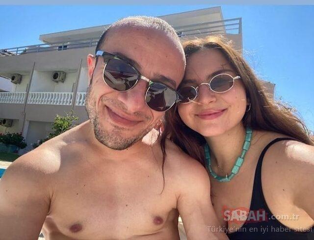 Camdaki Kız'ın Tako'su Hamza Yazıcı sevgilisi ile tatilde! Hamza Yazıcı'nın sevgilisi Şenay Forbes güzelliğiyle dikkat çekti...