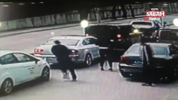 İstanbulÇekmeköy'deki kanlı tuzağın görüntüleri ortaya çıktı!  3 otomobil ile cipin önünü kesip silah ve bıçakla saldırdılar