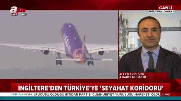 Son Dakika Haberi: İngiltere'den Türkiye'ye turizm uçuşları için flaş tarih açıklaması | Video
